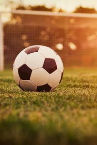 640x1136 Football Ground Sun Rays 4k