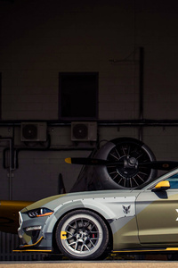 Ford Eagle Squadron Mustang GT 2018 Side View
