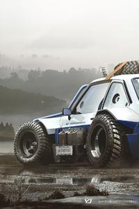 1440x2960 Ford Escort Mk2 4k