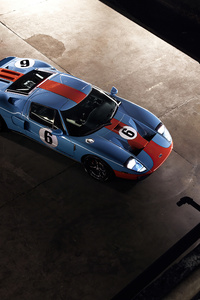 480x800 Ford Gt 2021 4k