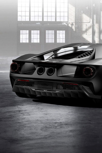 Ford GT 66 Heritage Edition Rear