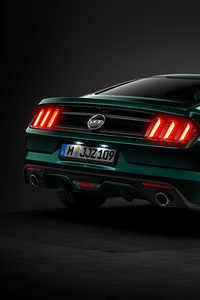 320x568 Ford Gt Mustang Rear