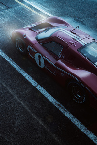 1080x1920 Ford Gt40 1967 5k