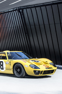 Ford GT40 Lightweight Race Car