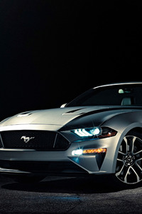 640x960 Ford Mustang 2018 Convertible 4k