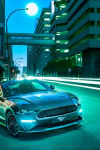 1242x2688 Ford Mustang Bullitt 5k 2020