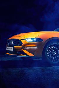 2160x3840 Ford Mustang Cgi 4k