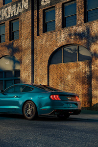 720x1280 Ford Mustang Gt 2019 4k