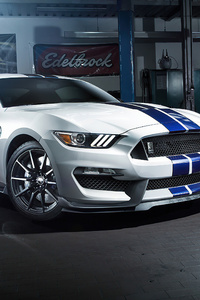Ford Mustang GT 350 4k