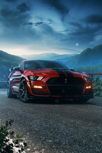 640x960 Ford Mustang Gt 4k 2020