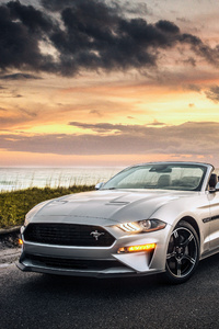 720x1280 Ford Mustang GT Convertible 2019 4k