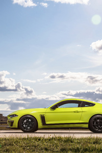 320x568 Ford Mustang Gt Fastback 3 4k