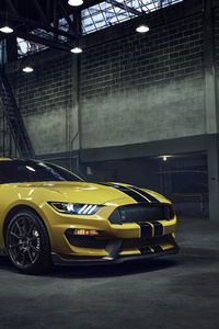 1125x2436 Ford Mustang GT350 4k 2021