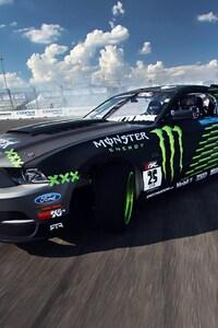 Ford Mustang Monster Car Drift