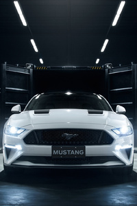 1125x2436 Ford Mustang Shadow Edition