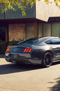 Ford Mustang Silver Cgi