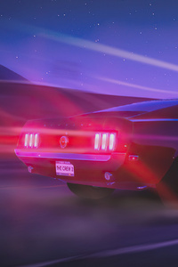 800x1280 Ford Mustang The Crew 2 Game 4k