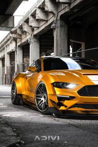 2160x3840 Ford Mustang Widebody Cgi 5k