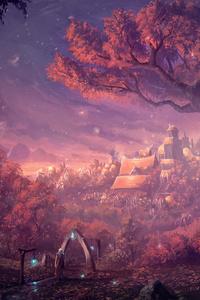 Forest Lights Color Fantasy