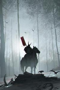 Forest Samurai 4k
