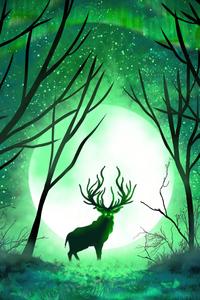 1080x2280 Forest Spirit 5k