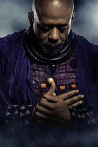 Forest Whitaker In Black Panther Poster 5k