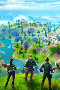 1080x2160 Fortnite Chapter 2 2019