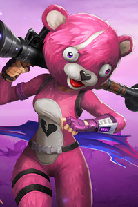 Fortnite Cuddle Team Leader 4k