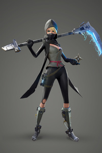 360x640 Fortnite Female Ninja