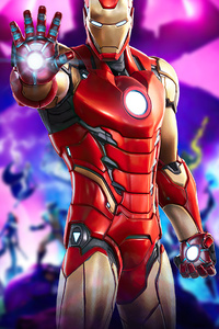 1440x2560 Fortnite Marvel Iron Man