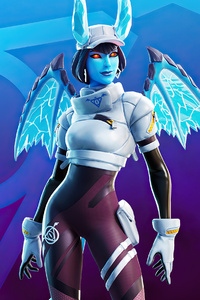 800x1280 Fortnite Shiver Outfit 4k