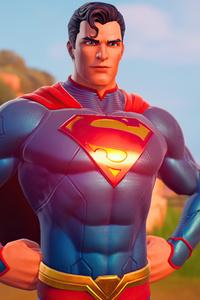480x854 Fortnite Superman 4k