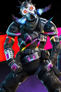 240x320 Fortnite Wasteland Warrior