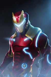 720x1280 Fortnite X Marvel Iron Man