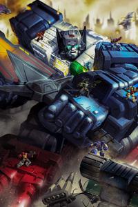 Fortress Maximus In Transformers Titans Return 2018