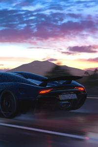 Forza Horizon 3 Koenigsegg Regera 4k