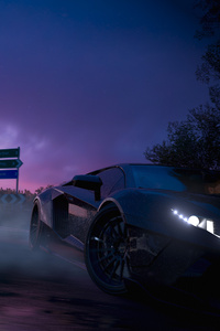 Forza Horizon 3 Lamborghini Aventador Drifting 4k