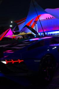 Forza Horizon 3 Lamborghini Aventador Rear