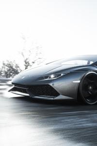 360x640 Forza Horizon 4 Lamborghini Huracan LP 610 4 4k