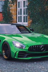 Forza Horizon 4 Mercedes Amg Gt R 4k