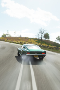 Forza Horizon 4 Muscle Ford Mustang Side Drifting