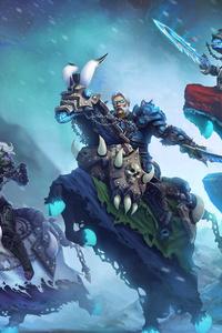 640x960 Four Horsemen Of The Apocalypse 4k