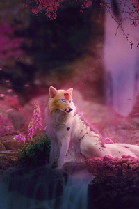 Fox Colorful Art
