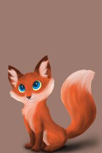 Fox Minimal Art 4k