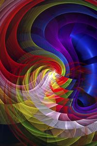 Fractal Apopysis Swirl Digital Art 8k