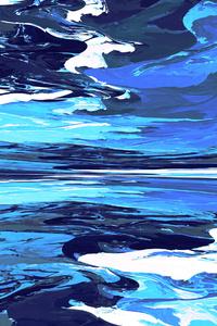 1080x1920 Fractal Scenery