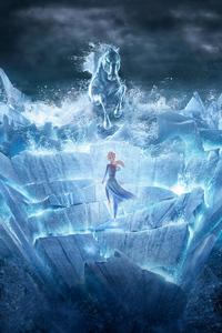 320x480 Frozen 2 2019 10k