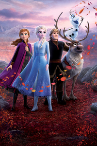 480x854 Frozen 2 2019 5k Movie