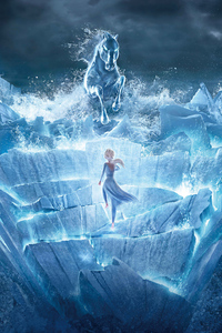 320x480 Frozen 2 2019 5k Movie New