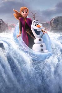 240x320 Frozen 2 2019 Poster